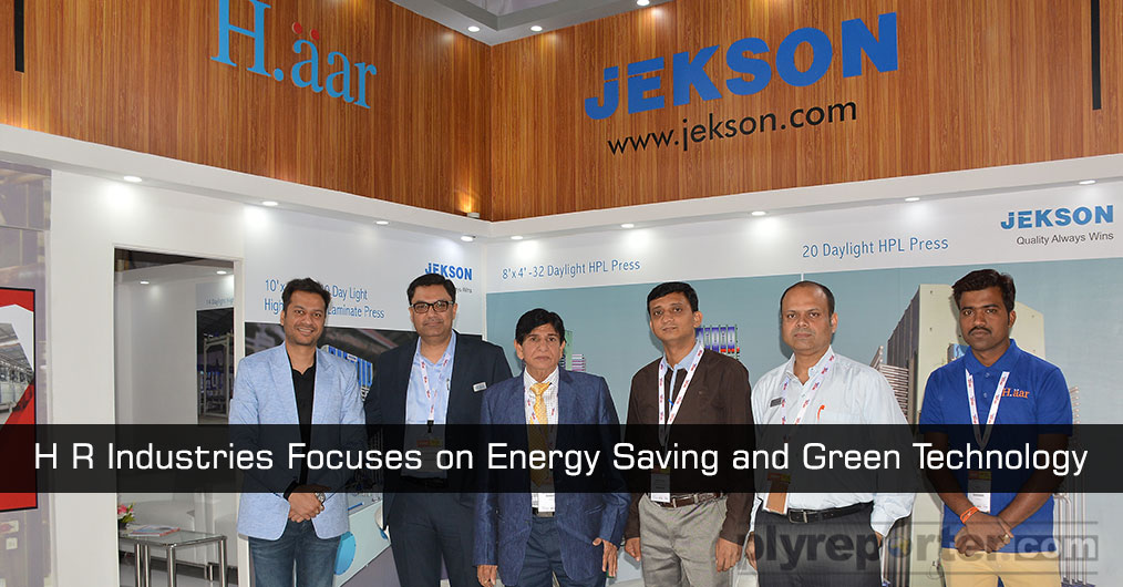 H R Industries focus was on wastage reduction, energy saving and green technology with their offerings. They also talked with customers about some of the interesting trend