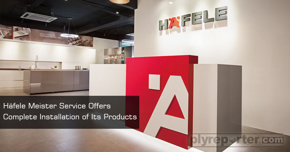 Häfele, the interiors fittings specialist brand, has always differentiated itself in the Indian market