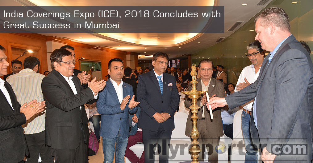India Coverings Expo (ICE), 2018, a first of its kind B2B trade fair for architecture, building materials, innovations and design industries was held from November 15 to 18, 2018