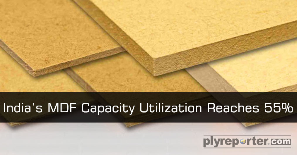 Increasing the prices of cheaper quality plywood due to high timber prices have been helping the growing demand of domestically produced MDF resulting in the improvement of capacity utilization.