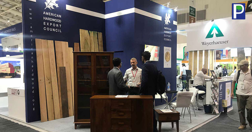 Total exports of U.S. hardwood lumber and veneer to India reached a value of USD 5.04 million in 2017, accordin to the American Hardwood Export Council (AHEC).