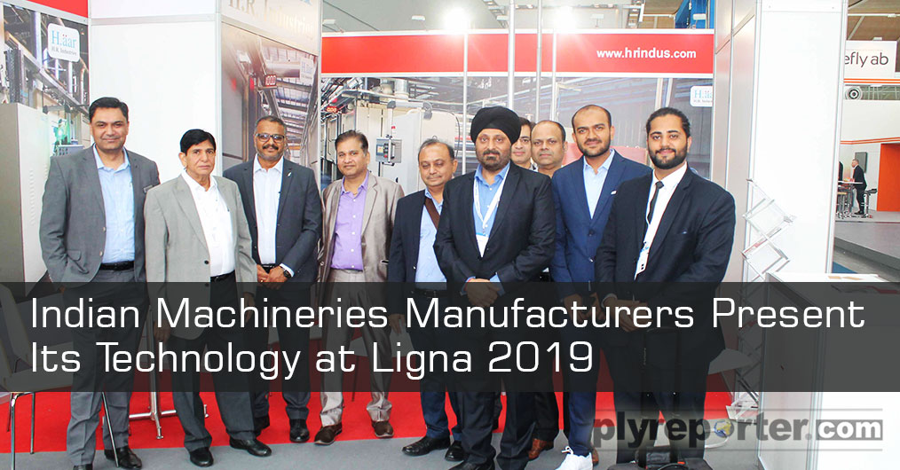 Indian machinery manufacturers and suppliers were also displayed its technology at this world biggest wood working and panel manufacturing machinery