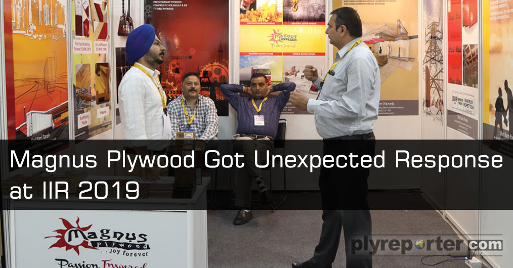 Magnus Plywood showcased range of plywood, LVL, Planks, H-Beams etc for construction and transport sector. They received huge response from dealers, distributors, architects and interior designers  at the IIR (India Interior Retailing) Exhibition.
