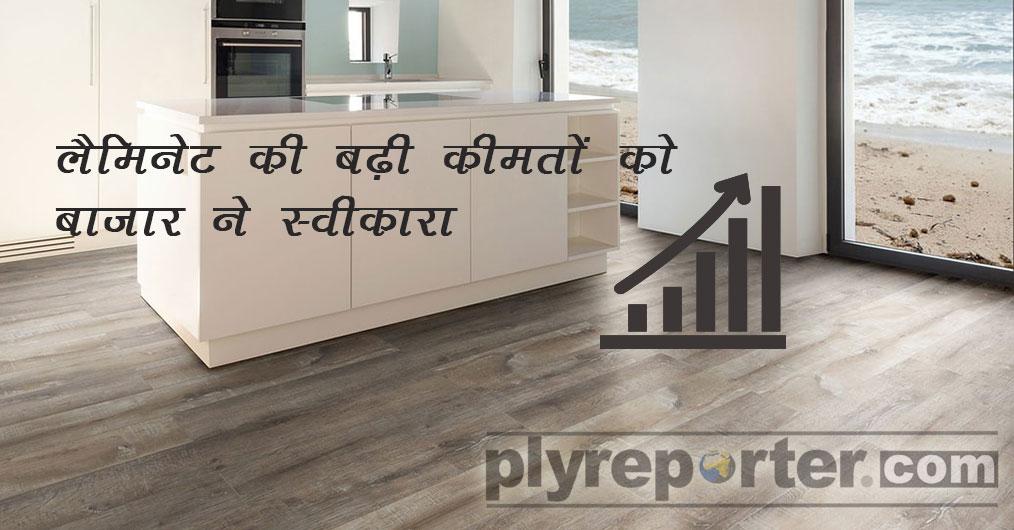 लंबी प्रतीक्षा के बाद एचपीएल सेगमेंट में कीमत में वृद्धि लगभग पूरे बाजार द्वारा स्वीकार कर लिया गया है। केमिकल, कागज, मोल्ड, बिजली, मजदूरी इत्यादि
