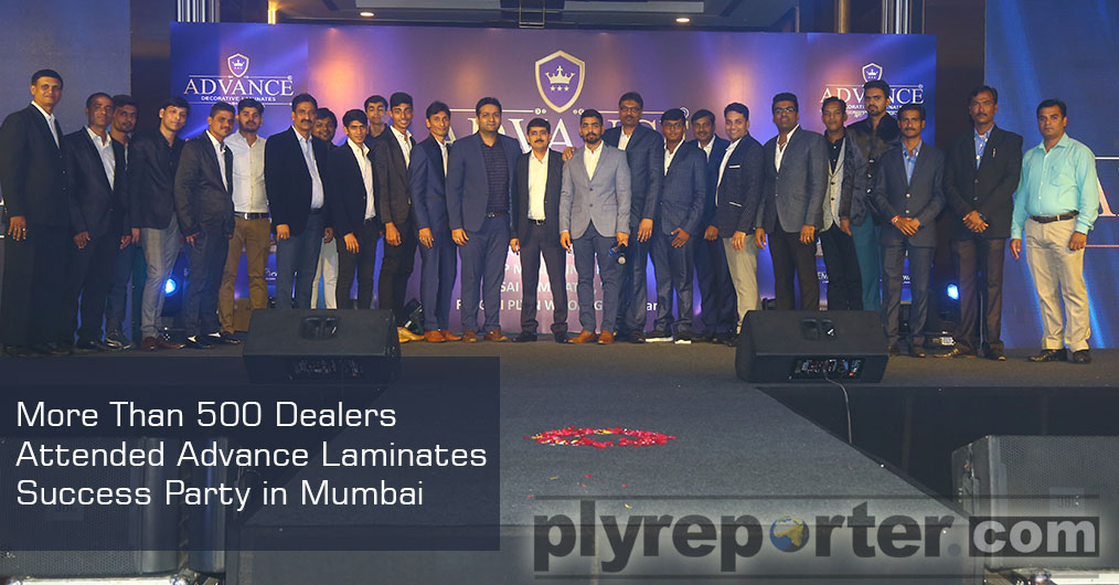 More Than 500 Dealers Attended Advance Laminates Success Party in Mumbai