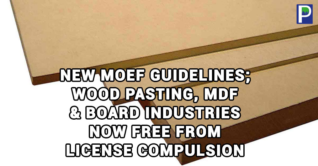 As reported earlier by The Ply Reporter there has been the phenomenal change in Government policy towards boosting the prospects for opening wood panel furniture industries in the country.