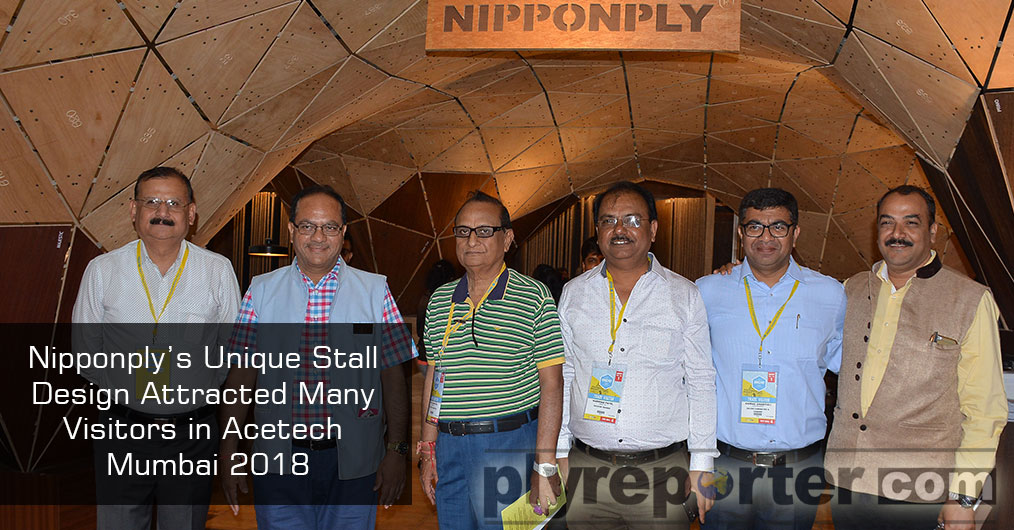 Nipponply showcased its products in a beautiful stall design. This modern architectural marvel was very unique in its design and showcased various innovative applications of Plywood