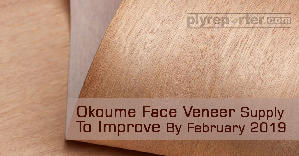 Okoume Face Veneer Supply to Improve by February