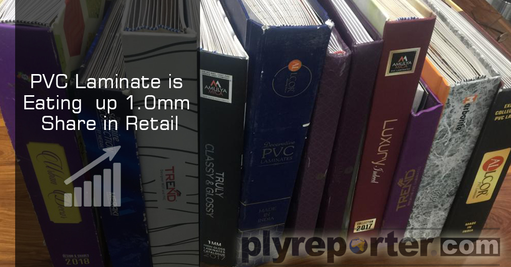 रिटेल शोरूम की संख्या में वृद्धि और पैनल उत्पादों व डेकोरेटिव लैमिनेट्स में मार्जिन घटने के कारण पीवीसी माइका की बिक्री बढ़ रही है।
