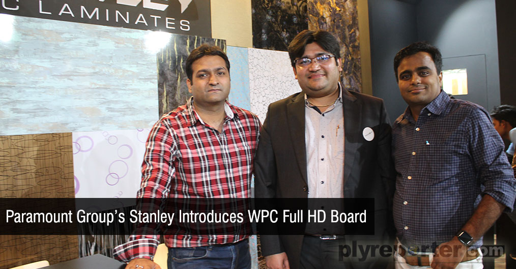 Stanley introduced WPC full HD board for high end customers with higher quality having better feature of WPC. They are also going to launch a new folder in WPC laminate