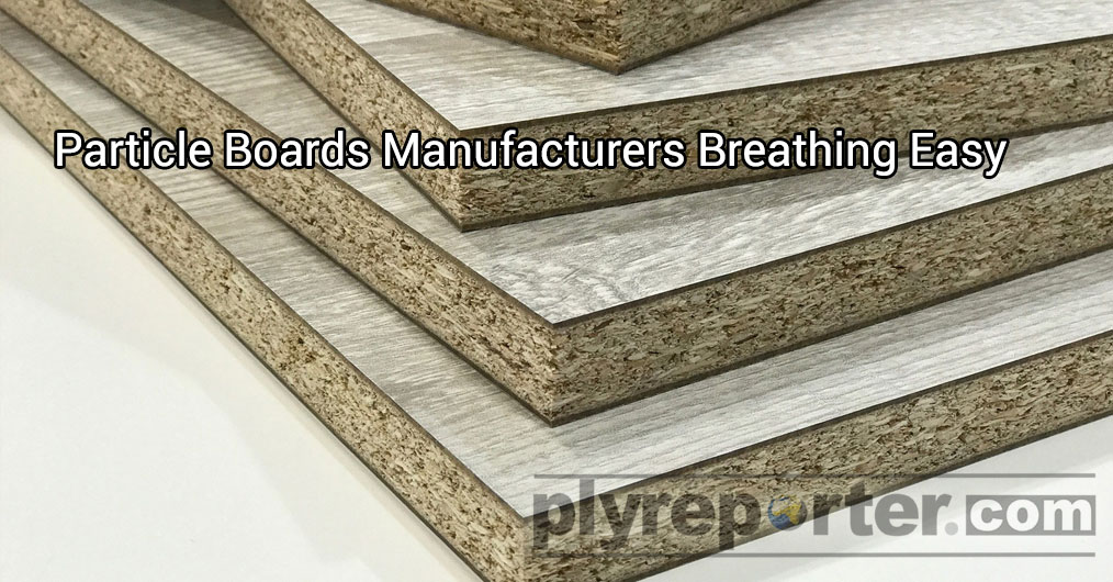Domestic Particle Boards and Pre-lam Particle Boards producers are breathing easy due to improved demand from OEMs.