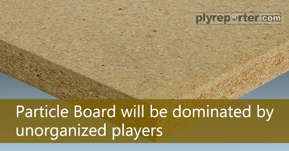 Domestic Particle Board demand is growing with the increase in plants and capacity in the country. From 236.2 crore in FY 15-16 to 222.6 crore in FY 16-17 marks a big 6% drop in particle board imports.