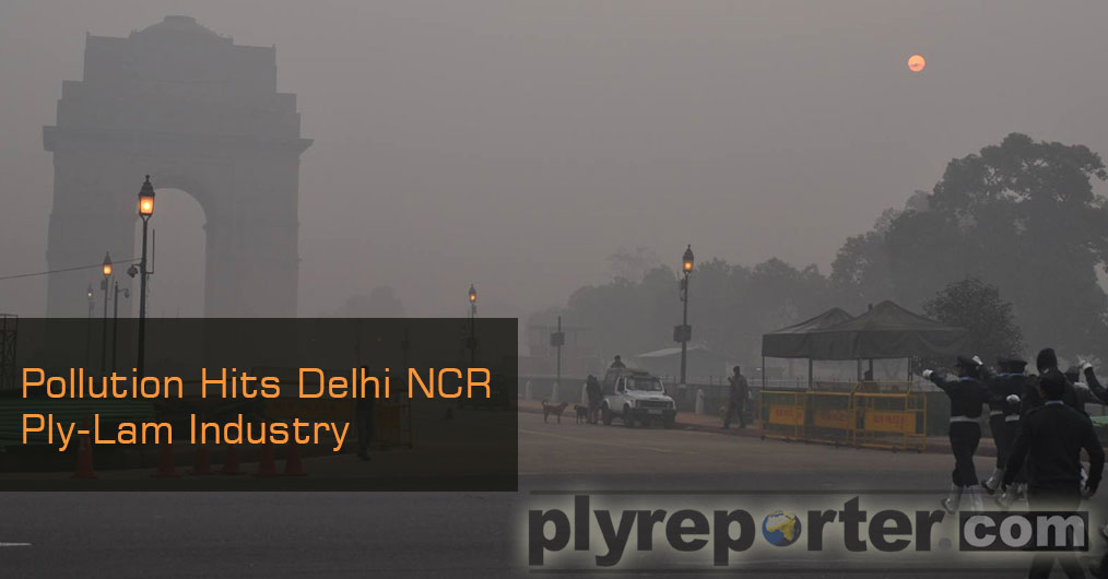Plywood and Laminates Industry of Delhi-NCR badly affected due to high pollution in November. Due to pollution, industrialists of Delhi-NCR had to stop the operation of their factories