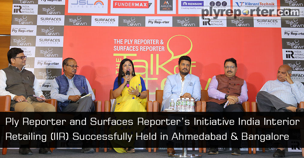 IIR events were graced with the presence of 325 dealers & architects in Ahmedabad held on May 4, 2019 and 360 dealers and architects witnessed in Bangalore on May 18, 2019.