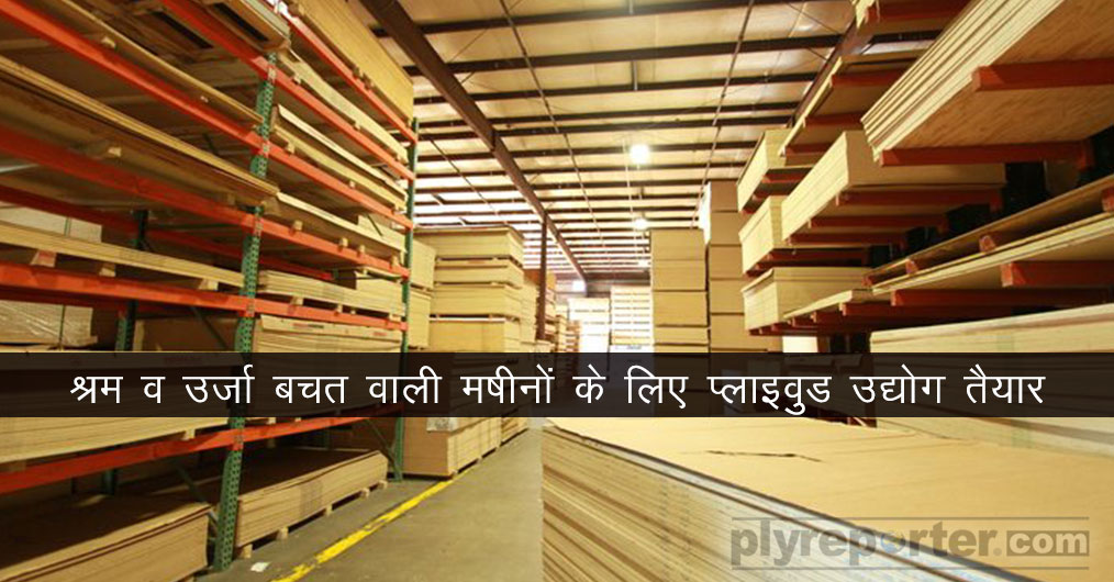 Indian plywood industry is rapidly transforming itself since last 4-5 years. The plywood producers are now very much concerned for quality, automization and volume production.