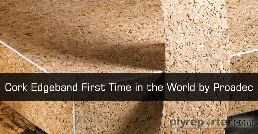 Proadec brings cork into the furniture manufacturing and the interior design segments a completely new, fashionable and 100% eco-friendly edgebanding under the motto