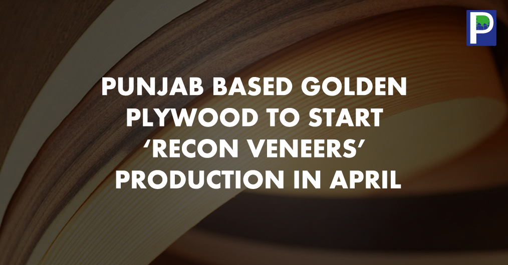Ludhiana, Punjab based Golden Plywood Group is setting up 'Recon Veneers' manufacturing unit here, which will start their commercial production in next 30 days. This will be the India's second 'Recon Veneers' manufacturing unit, having modern technol