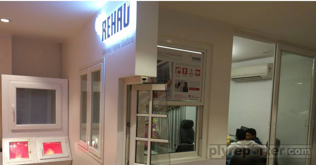REHAU India, a leading systems and service provider for polymer-based solutions in windows, furniture & building solutions opened its new retail store
