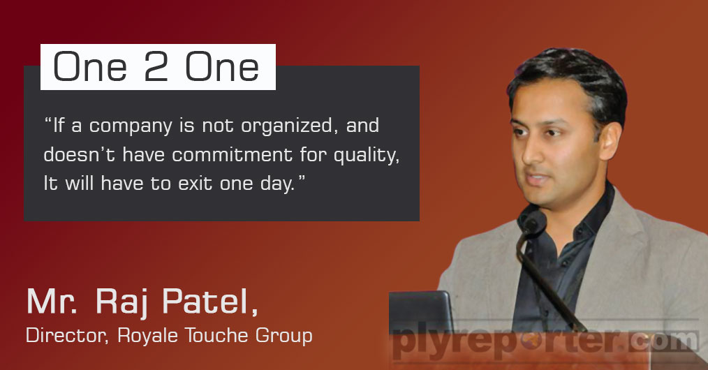 Started in 1978 in Wadhwan city, Gujarat, Royale Touche is known in India for design innovation in laminates.