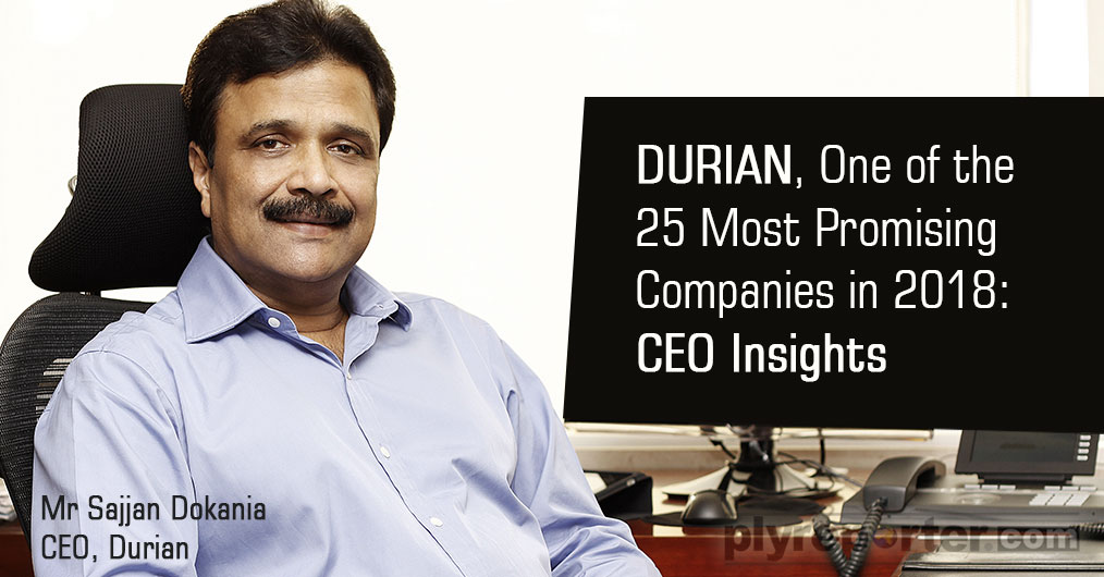 Durian was recently awarded with the prestigious CEO Insights award for being one of the top 25 best companies