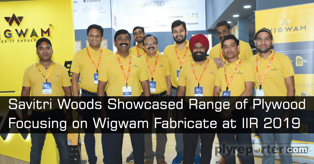 WIGWAM showcased all range of plywood at IIR focusing on WIGWAM fabricate offering and convince the visitors that the 'PLYWOOD AS IT SHOULD BE.' They received huge response for their range of product offerings.