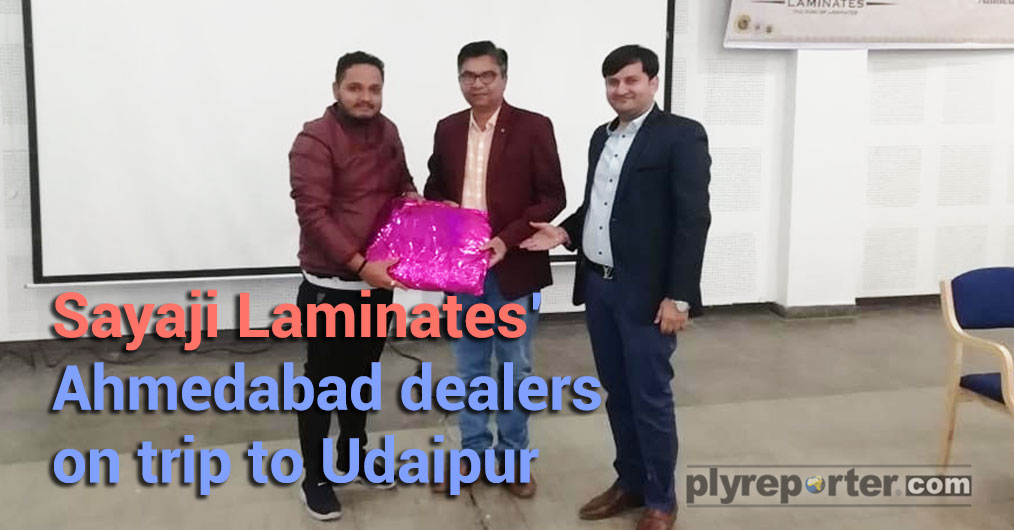 Sayaji Laminates organised two days city trip to Udaipur trip for their Ahmedabad dealers. The event was organised by the local distributor Forever Decor in association with the company which was lead by Mr Amitbhai Borsania, Proprietor of Forever De