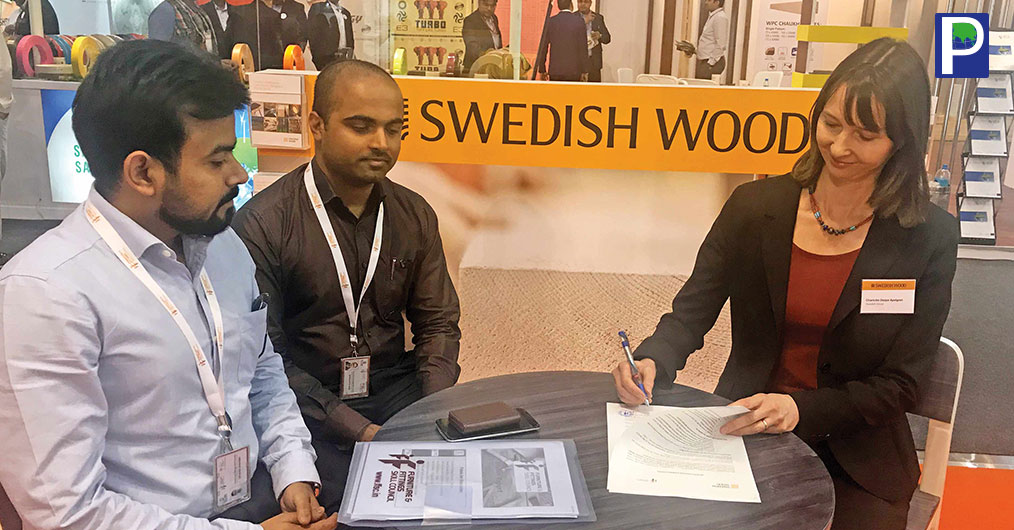 Swedish Wood recently signed an MoU with FFSC (Furniture and Fittings Skill Council). This MoU was signed keeping in mind the shortage of skilled manpower in the Indian wood