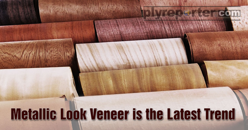 Metallic Decorative Veneer demand is the new fad, helping the retail showroom owners in India.