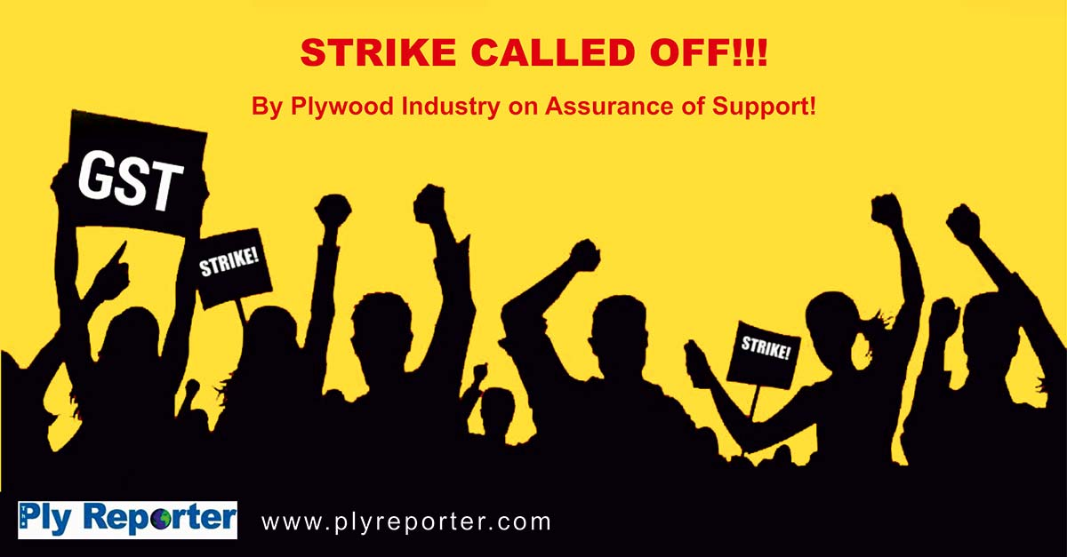Ply Reporter news - Strike called off by Plywood industry