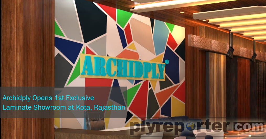 Archidply Industries Limited opened their 1st exclusive laminate showroom on 14th October in Kota with their channel partner M/S Umiya Timbers. It was a very gala opening attended by practically all major traders of Kota and nearby towns.