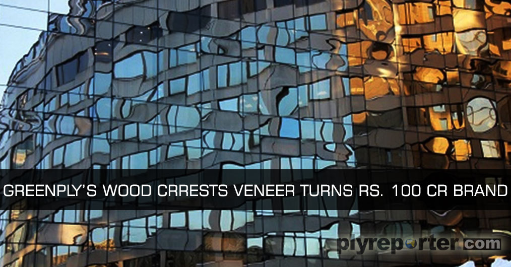 Greenply's Wood Crrests Decorative Veneer brand has completed its one year of launch in Indian market.
