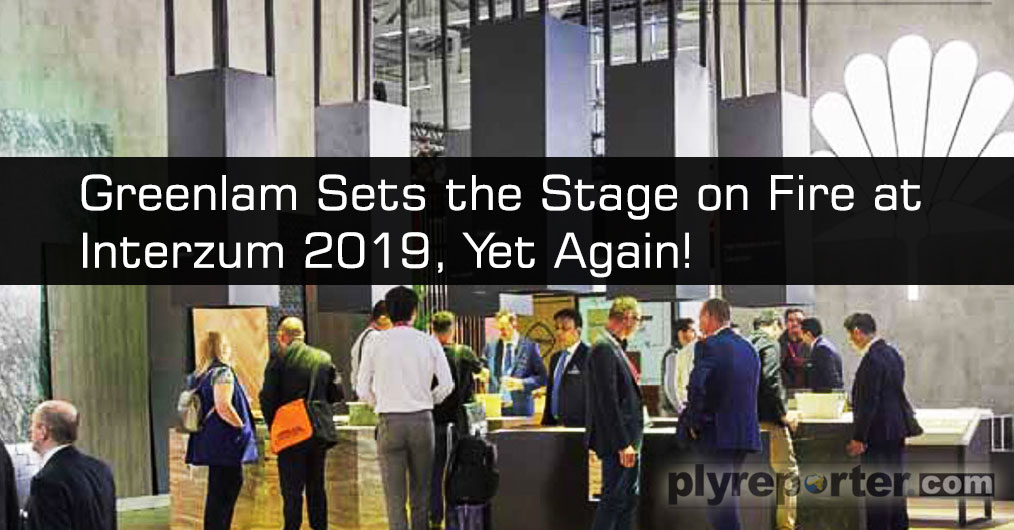 Greenlam Industries Ltd. made its 9th consecutive appearance at Interzum 2019, the world's leading event for interior and design which was held in Cologne, Germany from May 21 - 24 2019.