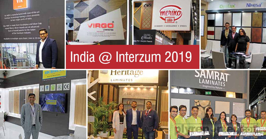 Interzum, the world's leading trade fair for furniture production and interior design, held in Cologne, Germany drew to an end on Friday, 24 May 2019