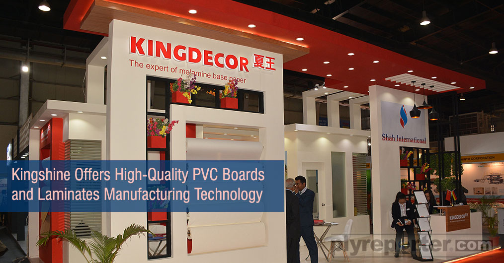 Jiangsu Kingshine promoted their High-Quality Plastic Machinery & equipments which received a very good response