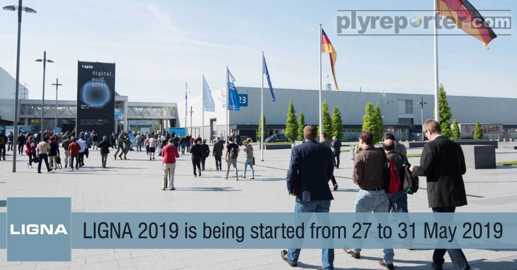 The world's leading trade fair for woodworking and wood processing plant, machinery and tools, LIGNA 2019 organised by Deutsche Messe AG and VDMA e