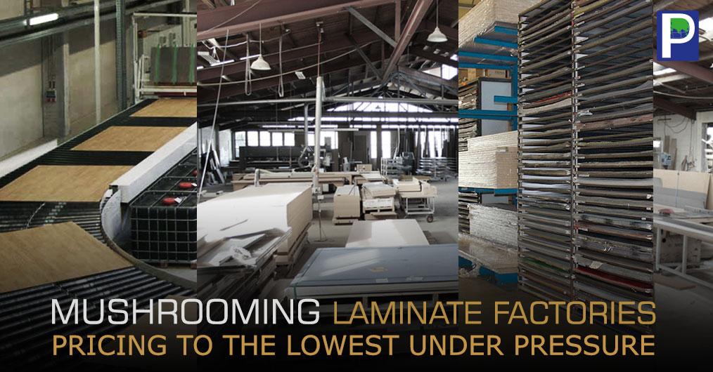 The increasing number of new units manufacturing decorative laminates in North India and Morbi Gujrat has left India's HPL market trembling due to excess production of decorative laminates.