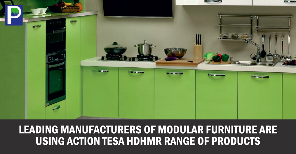 More and more leading manufacturers of modular furniture are now using Action TESA High Density High Moisture Resistant (HDHMR) range of products. They find TESA HDHMR boards to be ideal partner for their products ranges that include complete solutio