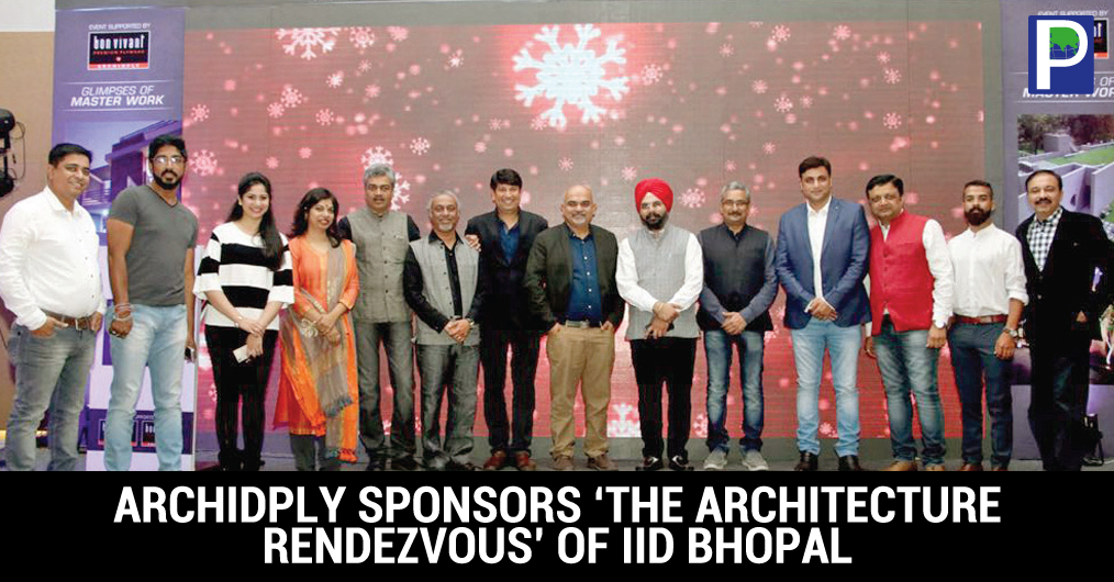 "Bon Vivant Decorative Veneers along with Patel Timber and Plywood participated in ""THE ARCHITECTURE RENDEZVOUS"" by IIID Bhopal on the 17th Dec, 2016 at Grand Lotus at Courtyard Marriot, Bhopal."