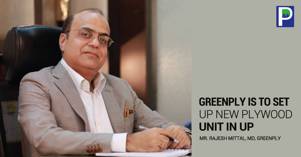 Greenply Industries Ltd is expanding its plywood manufacturing capacity by about 40%. The company is setting up a new unit in Hardoi, Uttar Pradesh. The company will add plywood and allied product capacity at the planned facility in Hardoi by 13.5 mi
