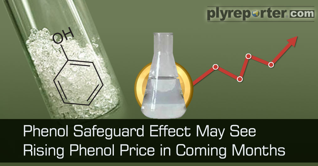 The Government of India has initiated Safeguard Investigation on Phenol on complaint of HOCL and Deepak Phenolics. Although, Phenol is on Anti-dumping net from seven countries such as Chinese Taipei, EU, Korea, Singapore, South Africa, Taiwan and USA