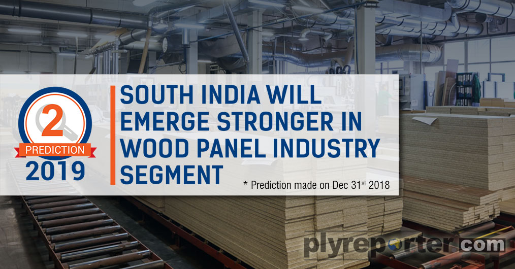 The emergence of South Indian states like Andhra Pradesh, Karnataka, Kerala is a possible trend that will began to take shape. With availability of 'Melia Dubia' timber species and advantage to Vishakhapatnam based plywood manufacturing plants due to