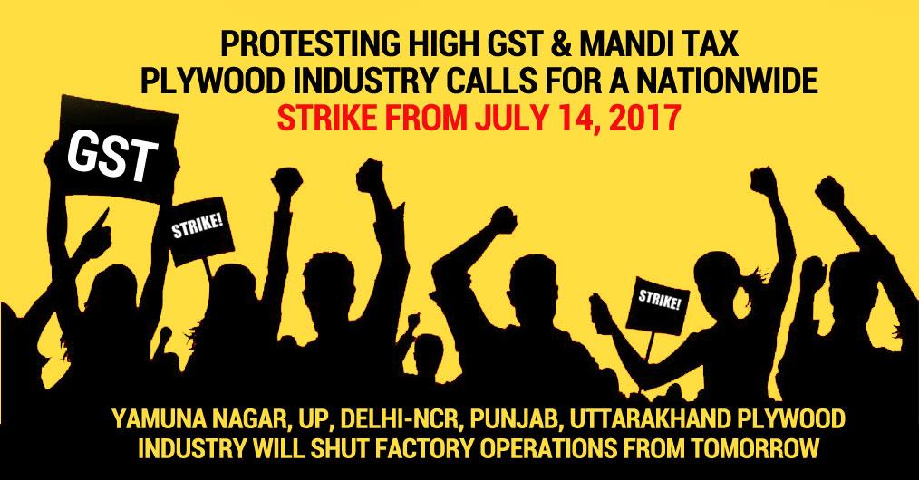Yamuna Nagar, UP, Delhi-NCR, Punjab, Uttarakhand Plywood Industry will shut factory operations from tomorrow.