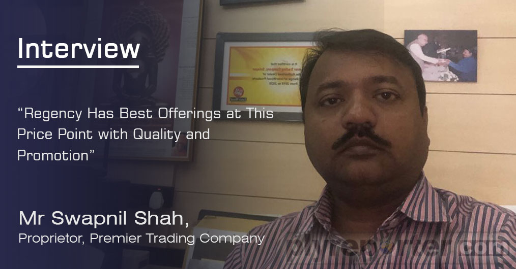 Nearly 60 years old trading firm Solapur based Premier Trading Company is a brainchild of Swapnil Shah's father. They are well known for quality offerings and play mostly in branded products.