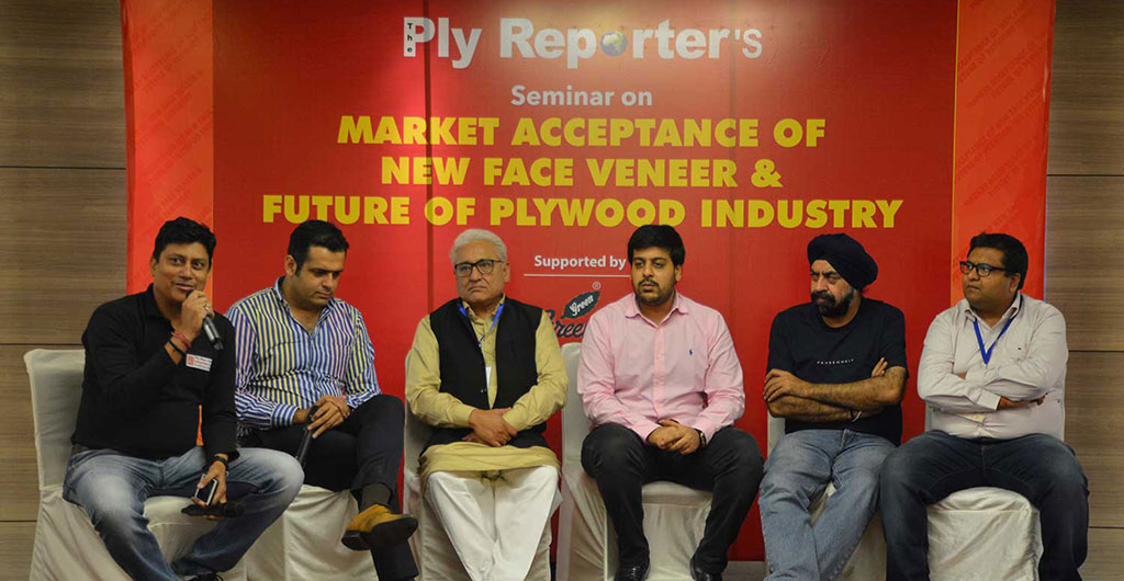 The one day seminar on 'Market Acceptance of New Face Veneer and Future of Plywood Industry' was organized by The Ply Reporter.