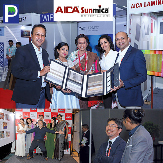 AICA Sunmica Decorative Laminates: Proud Co-Associate Sponsor Of WADe Asia 2018
