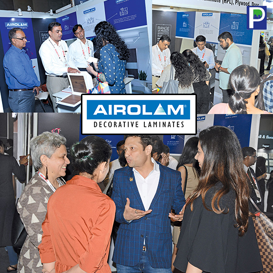 AIROLAM Decorative Laminates: Proud Co-Associate Sponsor Of WADe Asia 2018
